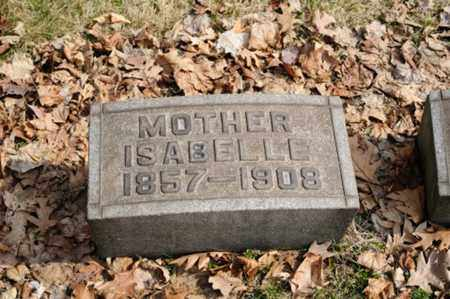 RINDER CAMERON, ISABELL - Stark County, Ohio | ISABELL RINDER CAMERON - Ohio Gravestone Photos