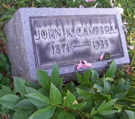 CAMPBELL, JOHN K. - Stark County, Ohio | JOHN K. CAMPBELL - Ohio Gravestone Photos