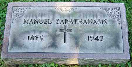 CARATHANASIS, MANUEL - Stark County, Ohio | MANUEL CARATHANASIS - Ohio Gravestone Photos