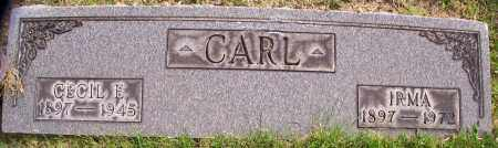 CARL, CECIL E. - Stark County, Ohio | CECIL E. CARL - Ohio Gravestone Photos