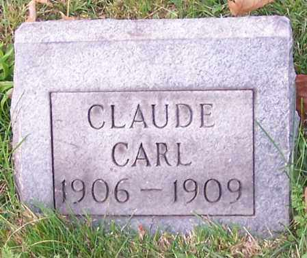 CARL, CLAUDE - Stark County, Ohio | CLAUDE CARL - Ohio Gravestone Photos