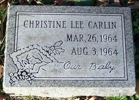 CARLIN, CHRISTINE LEE - Stark County, Ohio | CHRISTINE LEE CARLIN - Ohio Gravestone Photos