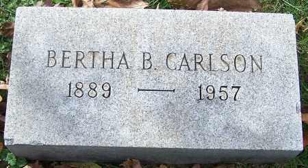 CARLSON, BERTHA B. - Stark County, Ohio   BERTHA B. CARLSON - Ohio Gravestone Photos