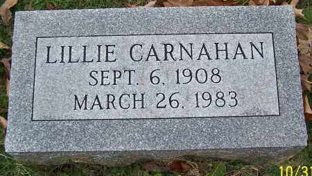 CARNAHAN, LILLIE - Stark County, Ohio | LILLIE CARNAHAN - Ohio Gravestone Photos