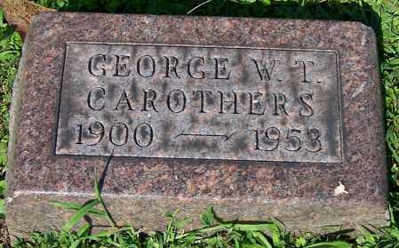 CAROTHERS, GEORGE W.T. - Stark County, Ohio | GEORGE W.T. CAROTHERS - Ohio Gravestone Photos