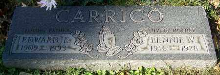 CARRICO, EDWARD E. - Stark County, Ohio | EDWARD E. CARRICO - Ohio Gravestone Photos