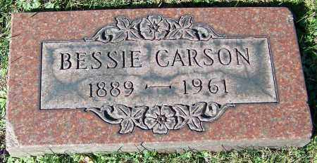 CARSON, BESSIE - Stark County, Ohio | BESSIE CARSON - Ohio Gravestone Photos