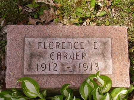 CARVER, FLORENCE E. - Stark County, Ohio | FLORENCE E. CARVER - Ohio Gravestone Photos