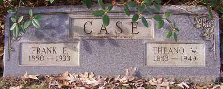 CASE, THEANO W. - Stark County, Ohio | THEANO W. CASE - Ohio Gravestone Photos
