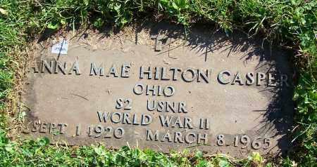 CASPER, ANNA MAE HILTON - Stark County, Ohio | ANNA MAE HILTON CASPER - Ohio Gravestone Photos