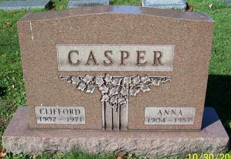CASPER, ANNA - Stark County, Ohio | ANNA CASPER - Ohio Gravestone Photos