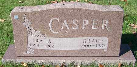 CASPER, IRA A. - Stark County, Ohio | IRA A. CASPER - Ohio Gravestone Photos
