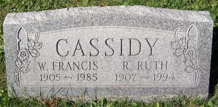 CASSIDY, R. RUTH - Stark County, Ohio | R. RUTH CASSIDY - Ohio Gravestone Photos