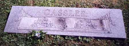 CASSLER, GEORGE L. - Stark County, Ohio | GEORGE L. CASSLER - Ohio Gravestone Photos
