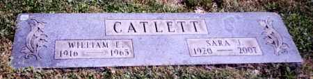 CATLETT, WILLIAM E. - Stark County, Ohio | WILLIAM E. CATLETT - Ohio Gravestone Photos