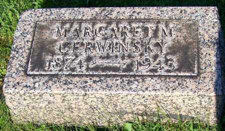 CERWINSKY, MARGARET M. - Stark County, Ohio | MARGARET M. CERWINSKY - Ohio Gravestone Photos