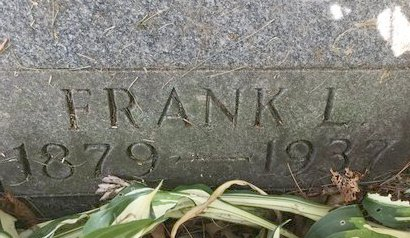 CHAIN, FRANK L. - Stark County, Ohio | FRANK L. CHAIN - Ohio Gravestone Photos