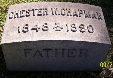 CHAPMAN, CHESTER W. - Stark County, Ohio | CHESTER W. CHAPMAN - Ohio Gravestone Photos