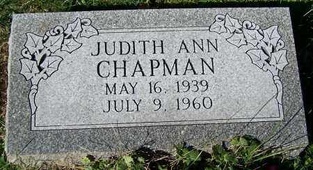 CHAPMAN, JUDITH ANN - Stark County, Ohio | JUDITH ANN CHAPMAN - Ohio Gravestone Photos