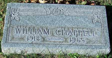 CHAPPELL, WILLIAM - Stark County, Ohio | WILLIAM CHAPPELL - Ohio Gravestone Photos