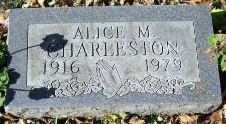 CHARLESTON, ALICE M. - Stark County, Ohio | ALICE M. CHARLESTON - Ohio Gravestone Photos