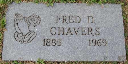 CHAVERS, FRED D. - Stark County, Ohio | FRED D. CHAVERS - Ohio Gravestone Photos