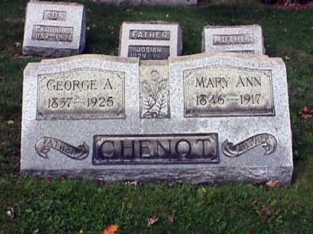 CHENOT, GEORGE ADOLPHE - Stark County, Ohio | GEORGE ADOLPHE CHENOT - Ohio Gravestone Photos