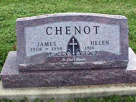 CHENOT, JAMES L. - Stark County, Ohio | JAMES L. CHENOT - Ohio Gravestone Photos