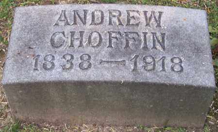 CHOFFIN, ANDREW - Stark County, Ohio | ANDREW CHOFFIN - Ohio Gravestone Photos