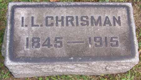 CHRISMAN, I.L. - Stark County, Ohio | I.L. CHRISMAN - Ohio Gravestone Photos