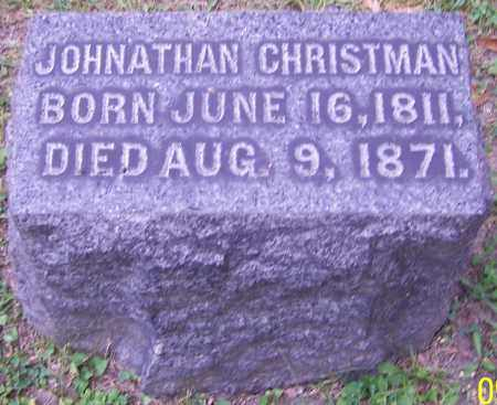 CHRISTMAN, JOHNATHAN - Stark County, Ohio | JOHNATHAN CHRISTMAN - Ohio Gravestone Photos