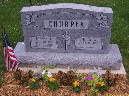 CHURPEK, JULIA A. - Stark County, Ohio | JULIA A. CHURPEK - Ohio Gravestone Photos