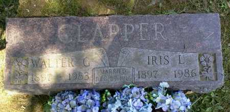 CLAPPER, WALTER G. - Stark County, Ohio | WALTER G. CLAPPER - Ohio Gravestone Photos