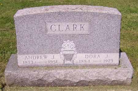 CLARK, ANDREW J. - Stark County, Ohio | ANDREW J. CLARK - Ohio Gravestone Photos