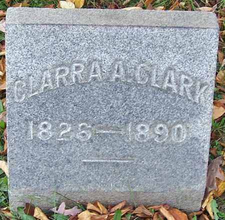 CLARK, CLARRA A. - Stark County, Ohio | CLARRA A. CLARK - Ohio Gravestone Photos