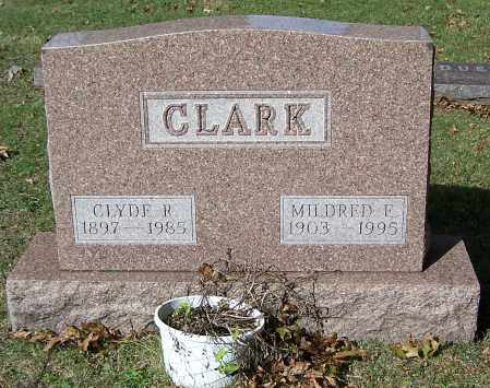 CLARK, MILDRED E. - Stark County, Ohio | MILDRED E. CLARK - Ohio Gravestone Photos
