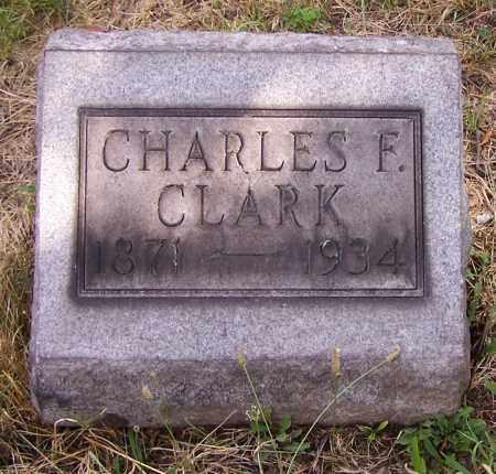 CLARK, CHARLES F. - Stark County, Ohio | CHARLES F. CLARK - Ohio Gravestone Photos