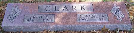 CLARK, FRED B. - Stark County, Ohio | FRED B. CLARK - Ohio Gravestone Photos