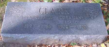 CLARK, CORA JANE - Stark County, Ohio | CORA JANE CLARK - Ohio Gravestone Photos