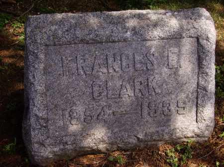CLARK, FRANCES E. - Stark County, Ohio | FRANCES E. CLARK - Ohio Gravestone Photos