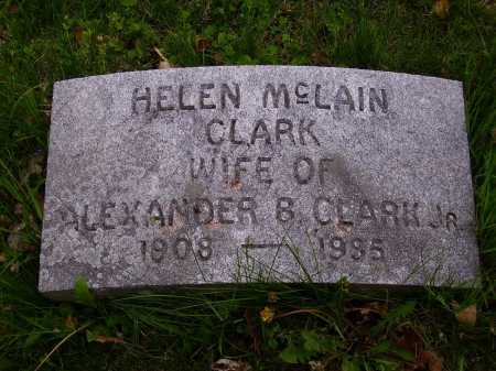 MCLAIN CLARK, HELEN - Stark County, Ohio | HELEN MCLAIN CLARK - Ohio Gravestone Photos