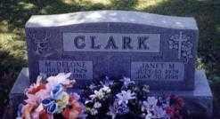 CLARK, JANET M. - Stark County, Ohio | JANET M. CLARK - Ohio Gravestone Photos