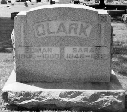 CLARK, SARAH - Stark County, Ohio | SARAH CLARK - Ohio Gravestone Photos