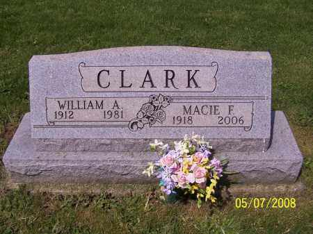 CLARK, WILLIAM A. - Stark County, Ohio | WILLIAM A. CLARK - Ohio Gravestone Photos