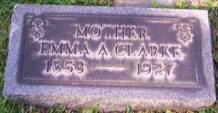 CLARKE, EMMA A. - Stark County, Ohio | EMMA A. CLARKE - Ohio Gravestone Photos