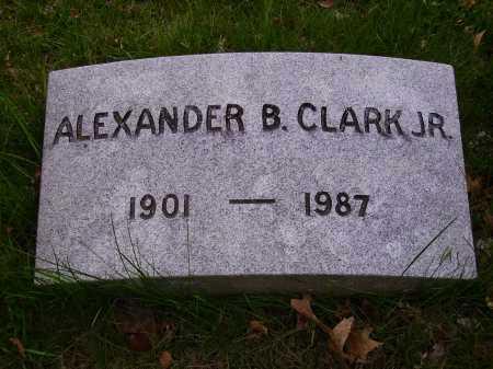 CLARK,JR, ALEXANDER B. - Stark County, Ohio | ALEXANDER B. CLARK,JR - Ohio Gravestone Photos