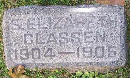 CLASSEN, S.ELIZABETH - Stark County, Ohio   S.ELIZABETH CLASSEN - Ohio Gravestone Photos