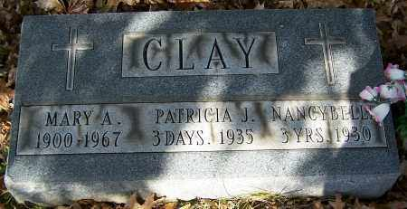 CLAY, MARY A. - Stark County, Ohio | MARY A. CLAY - Ohio Gravestone Photos
