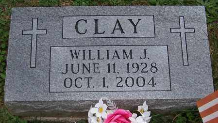 CLAY, WILLIAM J. - Stark County, Ohio | WILLIAM J. CLAY - Ohio Gravestone Photos