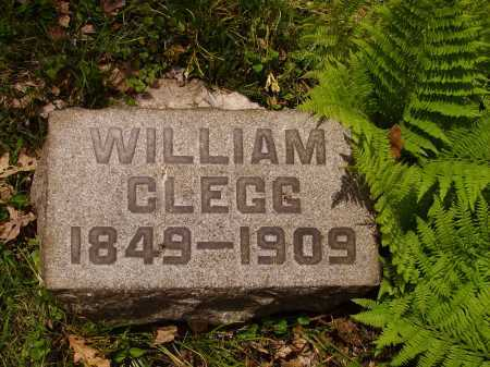 CLEGG, WILLIAM - Stark County, Ohio | WILLIAM CLEGG - Ohio Gravestone Photos